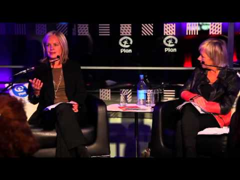 Plan Talks - Mariella Frostrup with Jude Kelly at the Southbank Centre - October 2013