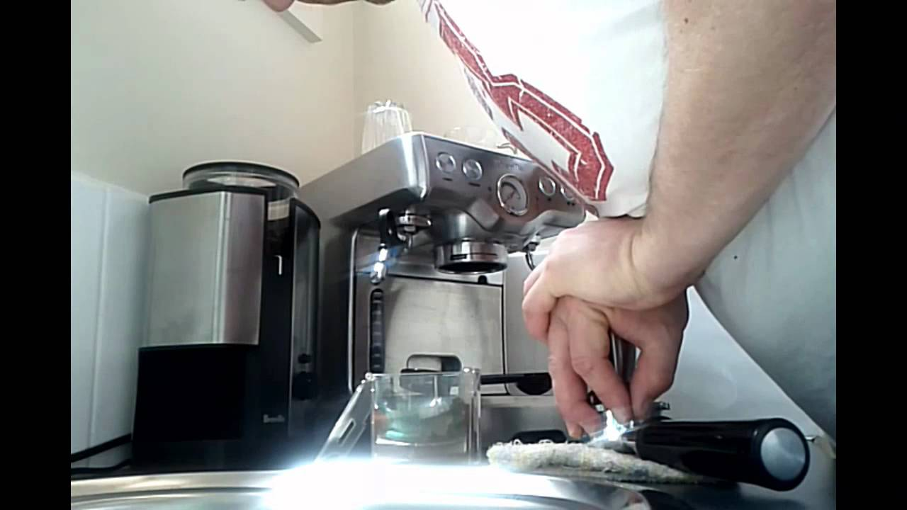 Breville Coffee Maker Grinder Not Working : Tips Breville BES820 Coffee Machine non pressurized filter and modified Grinder BCG450 - YouTube