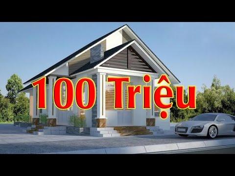 Những mẫu nhà cấp 4 đẹp giá rẻ chỉ từ 100 đến 500 triệu
