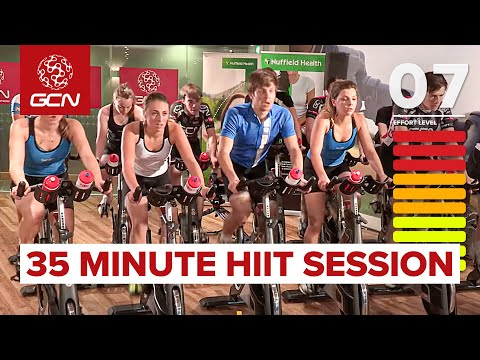 35 Minute Cycle Training Workout - Hill Training