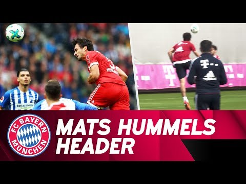 Practice makes perfect: Mats Hummels' header training pay off! ?
