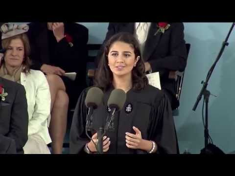 Undergraduate Speaker Sarah Abushaar | Harvard Commencement 2014
