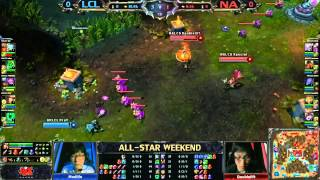 2013 ALL-STAR League Of Legends Semi-final Korean LCL Vs
