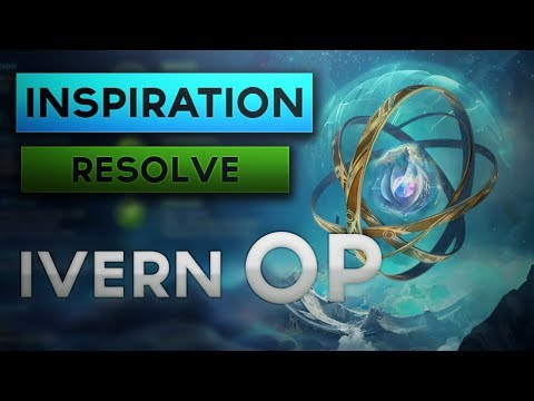 Inspiration + Resolve Ivern Jungle Is OP   Runes and Item Build Guide