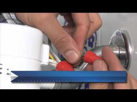 Ferretotal c mo instalar una ducha el ctrica youtube for Como arreglar una llave de ducha que gotea