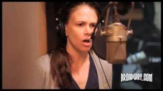Behind the Scenes: Anything Goes Recording with Sutton Foster, Joel Grey, Laura Osnes... view on youtube.com tube online.