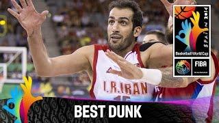 Iran v Serbia - Best Dunk - 2014 FIBA Basketball World Cup