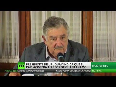 Uruguay recibirá presos de la cárcel de Guantánamo a petición de EE.UU.