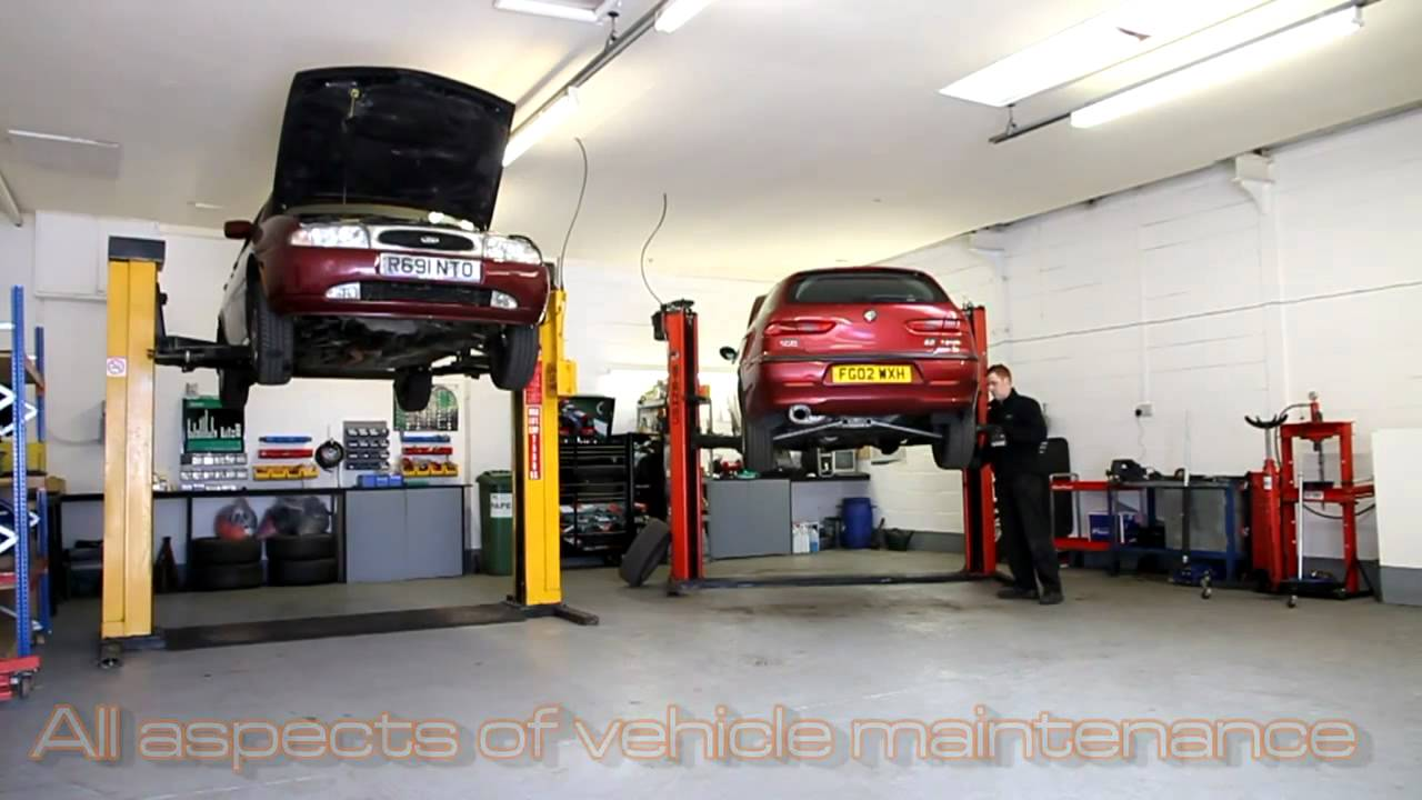 Complete auto repair vehicle repair garage derby for Equipement complet garage auto