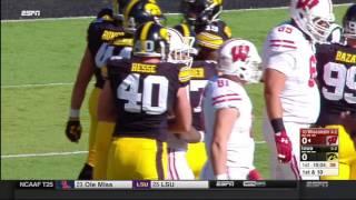 Wisconsin at Iowa Oct 22, 2016 FULL GAME