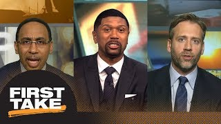 Stephen A., Jalen Rose and Max talk possibility of Kawhi Leonard playing in L.A. | First Take | ESPN