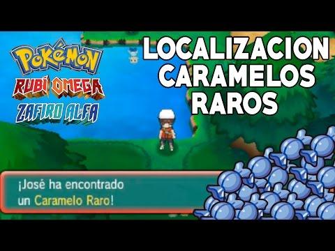 Pokemon Rubí Omega/Zafiro Alfa: LOCALIZACIÓN DE TODOS LOS CARAMELOS RAROS