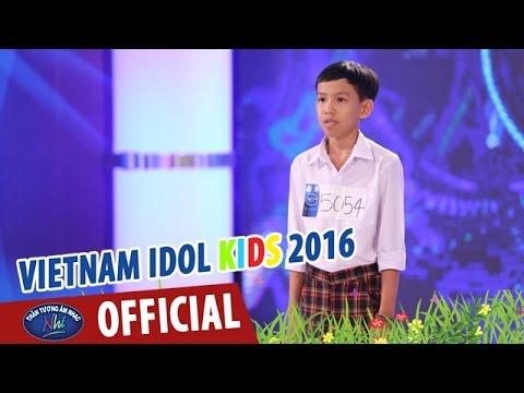 VIETNAM IDOL KIDS - THẦN TƯỢNG ÂM NHẠC NHÍ 2016 - HELLO - HỮU LÂM