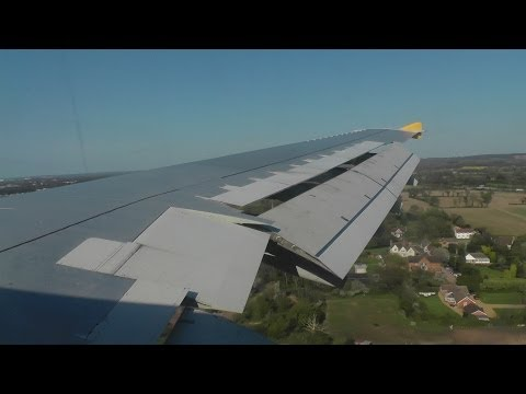 FINAL FLIGHT Monarch Airbus A300 G-OJMR Approach + Landing at BHX