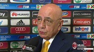 "Galliani: ""Vinciamo le ultime tre e.. poi vediamo"" | AC Milan Official"