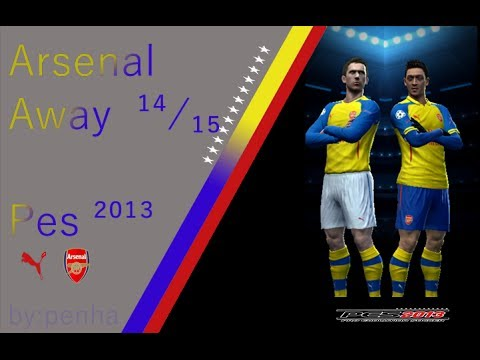 ARSENAL AWAY KIT PUMA 14-15 [PES 2013]