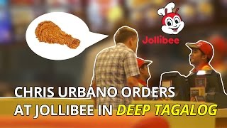 Viral: White guy orders at Jollibee in deep Tagalog – HILARIOUS