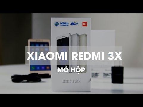 Mở hộp Xiaomi Redmi 3X, Chip Snapdragon 430, 2GB RAM, giá rẻ giật mình