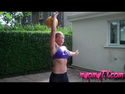 Insane Fat Burning Kettlebell Drill