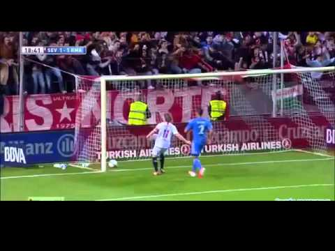 Sevilla vs Real Madrid 2 1 2014 All Goals & Match Highlights 26 3 2014 اشبيلية مباراة ريال مدريد 2 1
