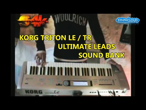S4K Lead Collection on Korg TRITON Le / TR: Liquid Lead, Monster Lead, Wailing Lead