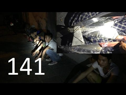 NK141 tập 190: Chuẩn bị chém nhau thì bị 141