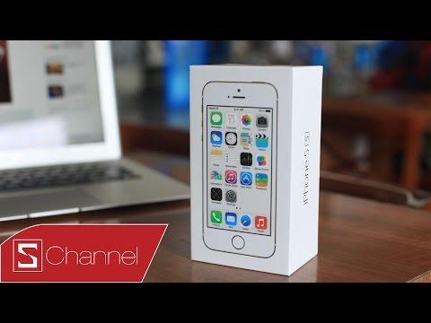 Mở hộp iPhone 5s chính hãng FPT