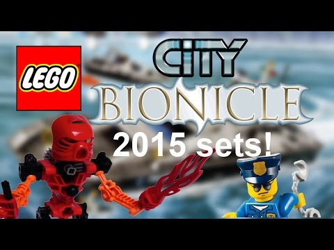 LEGO 2015 sets! LEGO Bionicle and City Water Police sets list leaked!