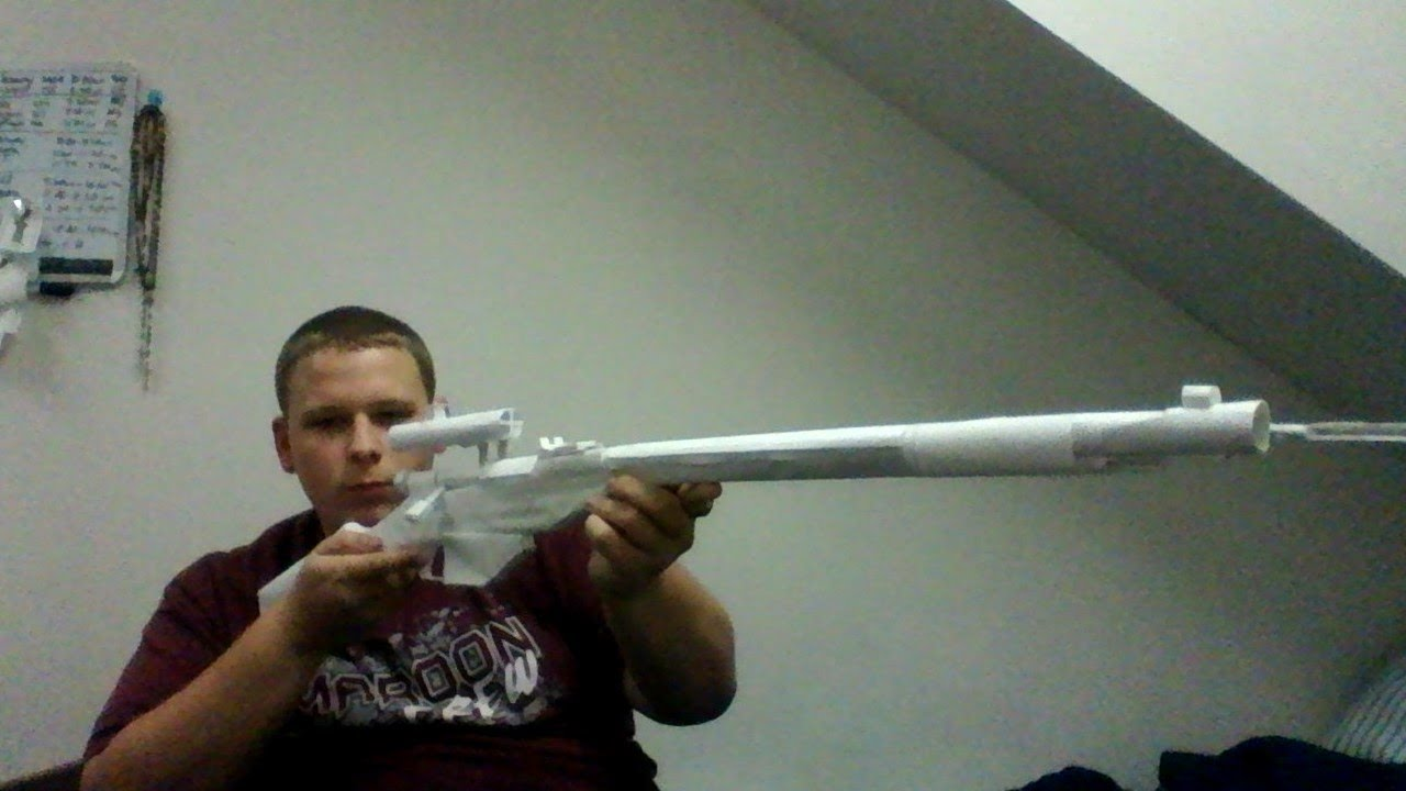Paper Sniper Rifle