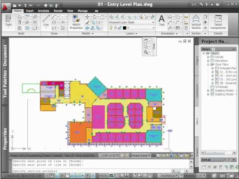 AutoCAD Architecture 2012 - Demo - Sections
