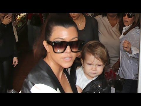 Kourtney Kardashian Pulls a Kanye West on Paparazzi