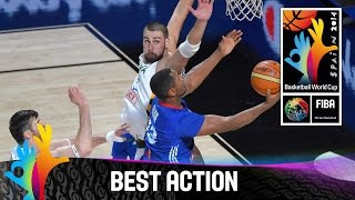 Lithuania v France - Best Action - 2014 FIBA Basketball World Cup