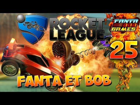 Fanta et Bob - Ep.24 - ON ICE !!! - COOP sur Rocket League