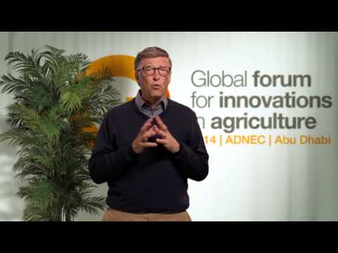 Bill Gates on the importance of GFIA 2014