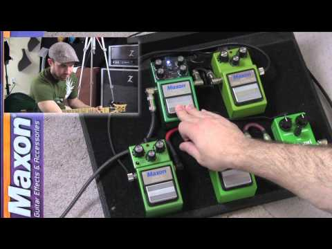 Maxon Overdrive Pedal Shootout w/ David J.