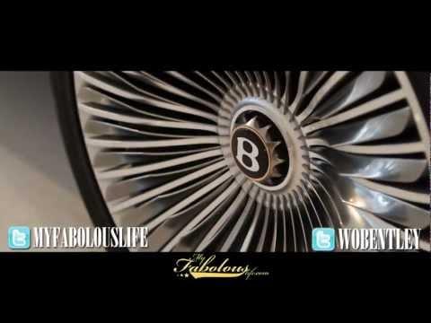 Fabolous Gets Exclusive Preview Of Bentley Truck