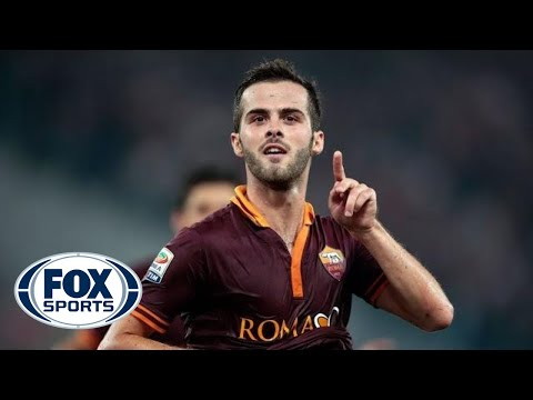 Pjanic scores from distance to pull one back for Roma