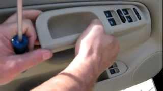 Volkswagen Jetta Driver's Door Panel How To Remove 99 To
