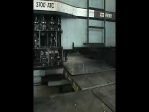 Whitney 3700-ATC CNC Punch/Plasma Turret Press. (1993)