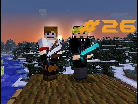 Matty and Brad Play Minecraft EP : 26 Finished XP farm