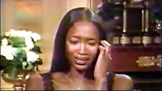 Naomi Campbell Cries After Hearing Versace's Murder