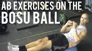 Ab Exercises On The BOSU Ball