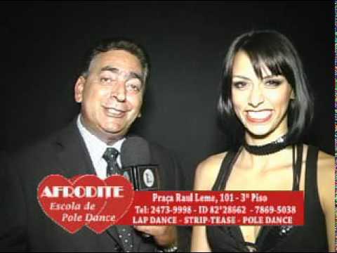Escola de Poli Dance Afrodite Professora Ravane Costa