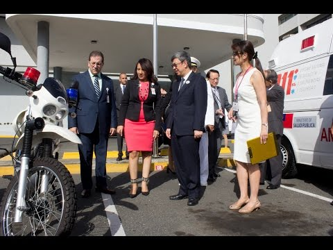 Vice President Chen visits disabled care center and 911 emergency response center