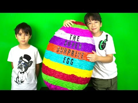 OPENING THE BIGGEST SURPRISE EGG IN THE WORLD! - SO EPIC!!!!