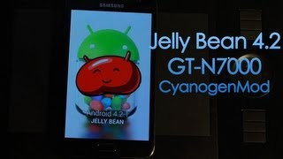 Jelly Bean 4.2 En Nuestro Galaxy Note Con CyanogenMod