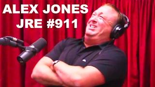 Alex Jones goes CRAZY on Joe Rogan Experience  #911