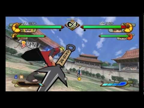 Naruto Shippuden: Gekitou Ninja Taisen EX Special Minato Combo Strings