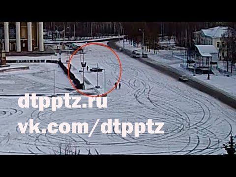 На центральной площади города сбили пешехода