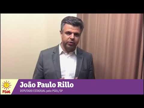 [João Paulo Rillo | Deputado Estadual pelo PSOL/SP]